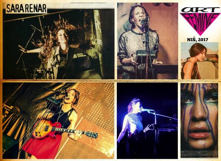 Sara Renar ArtFemine festival