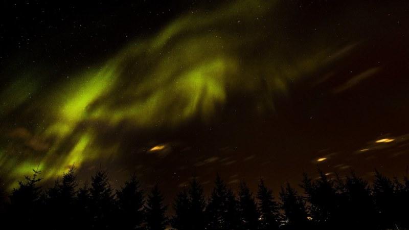 aurora borealis arktik