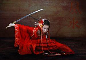 cosplay geisha ratnik