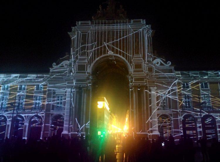 Arco de Rua Augusta projekcija - photo by Vladimir Pešić