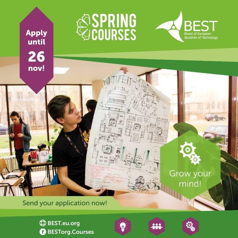 Prolećni kursevi BEST organizacije