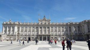 Palacio Real (kraljevska palata), Foto Brankica Ćirić