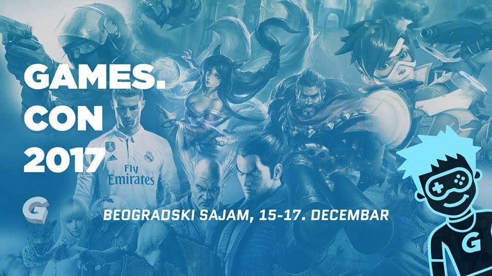 games.con festival poster