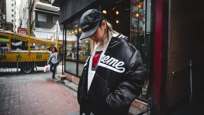 supreme jakna logomanija modni trend