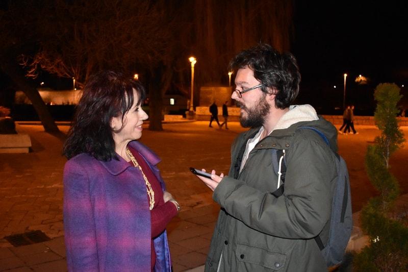 Biljana Stanojević i Nemanja Stevanović Foto: Ana Stanojević