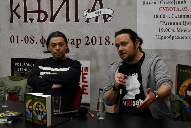 Marko Vidojković intervju Ananas Magazin Promocija knjige u Nišu Foto Ana Stanojević