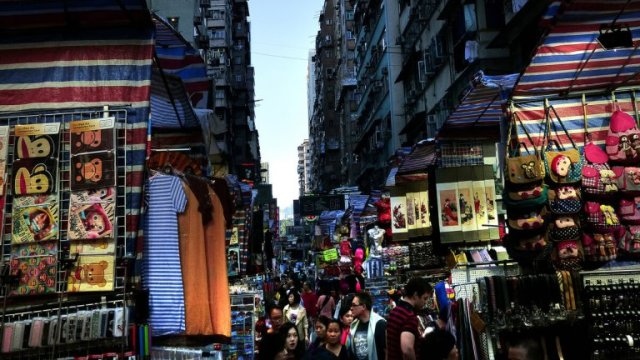 buvljak hong kong Foto Bernard Spragg