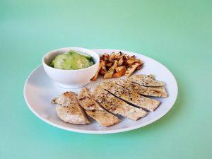 foto dijana kostic hrono vecera pikantna piletina i pomfrit od celera
