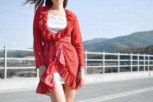 haljina na tufne foto unsplash