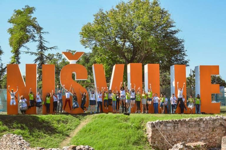 Nisville konkurs volonteri