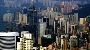 zgrade hong kong Foto Bernard Spragg