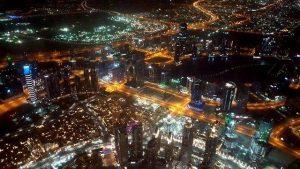 Dubai Burj Khalifa pogled sa 148. sprata Foto Suzana Milosevic