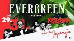 Evergreen festival orkestar impresija
