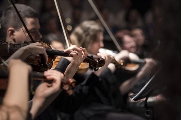 simfonijski orkestar, orkestar foto pixabay