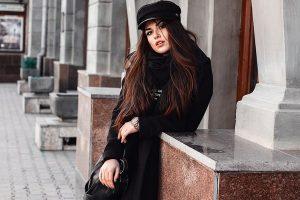 all black outfit jesen zima Foto Pixabay