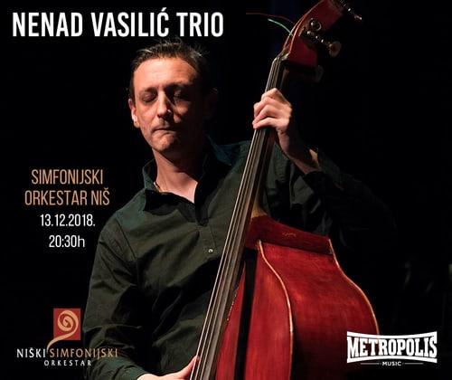 Nenad Vasilic Trio koncert Nis Foto Promo materijal