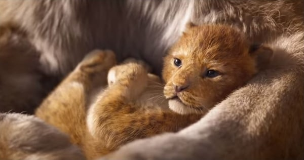 the lion king foto youtube screenshot lista filmova za decu i odrasle 2019 godina