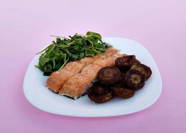 Hrono večera Grilovan losos sa pečurkama Foto Dijana Kostic