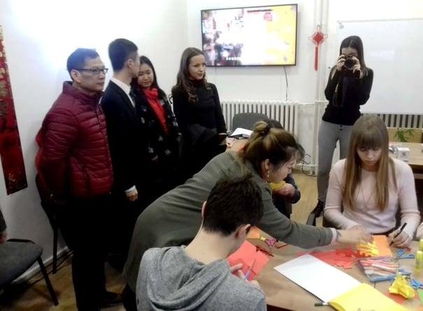Kineski kutak Narodna biblioteka Stevan Sremac Institut Konfucije Foto Ana Stanojevic